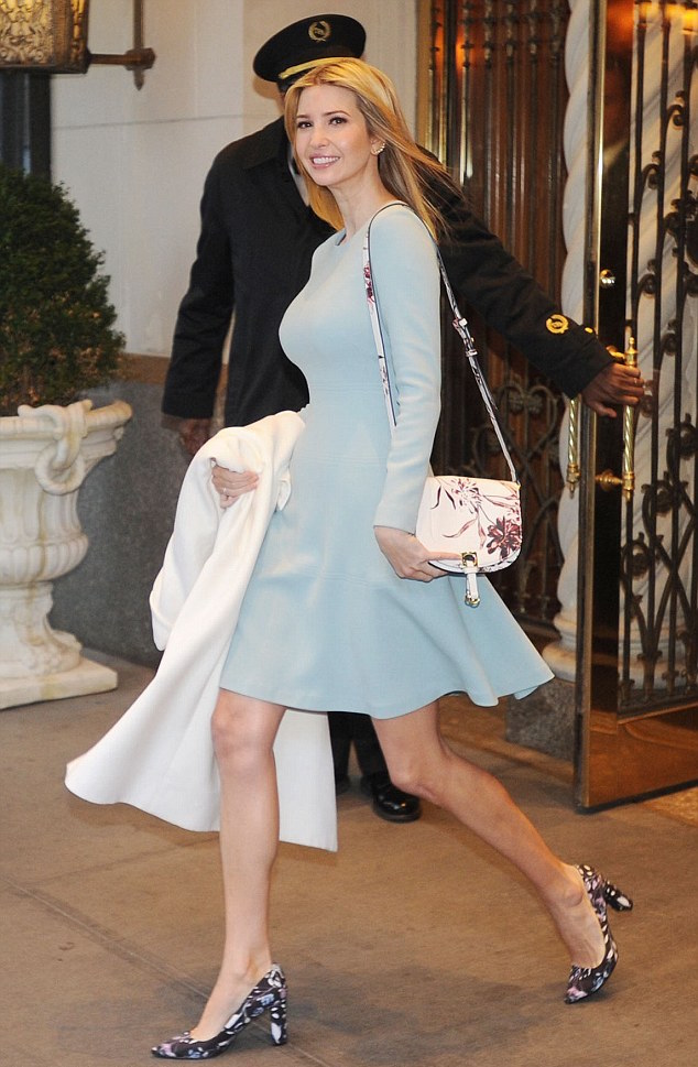 Ivanka-Trump-Looks-Chic-In-Pale-Blue-As-She-Heads-Off-To-Work-KOKOTV